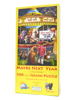 Maybe Next Year (300 Large Piece Jigsaw Puzzle)