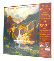 Still Waters (500 Piece Large Piece Jigsaw Puzzle)