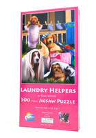 Laundry Helpers (Large Piece Puzzle)