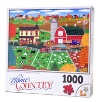 Perfect Day on the Farm Puzzle