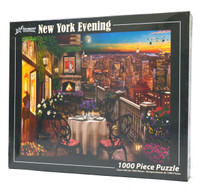New York Evening Jigsaw Puzzle