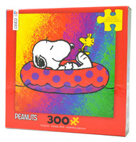 Snoopy on a Raft Large Piece Puzzle