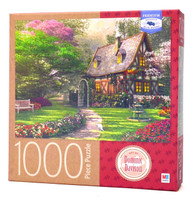 The Misty Lane Cottage Jigsaw Puzzle