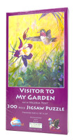 Visitor To My Garden (300 Large Piece Jigsaw Puzzle)
