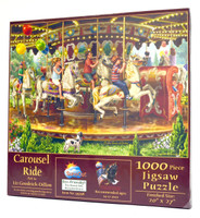Carousel Ride Jigsaw Puzzle