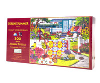 Serene Summer (300 Large Piece Jigsaw Puzzle)