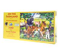 On the Farmland (Large Piece Puzzle)