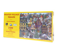 Winter Village Square (300-piece Puzzle)