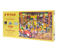 4 H Fair Large Piece Jigsaw Puzzle