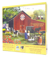 Serenity in the Country (Large Piece Puzzle)
