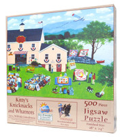Kitty's Knicknacks and Whatnots 500-Piece Jigsaw Puzzle