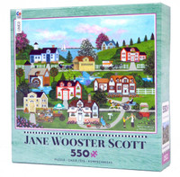 Spring Has Sprung 550-Piece Jigsaw Puzzle by Jane Wooster Scott