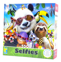 Beach Party Panda Jigsaw Puzzle