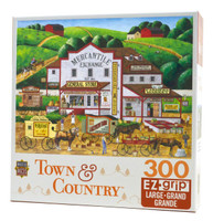 Morning Deliveries (Large Piece Art Poulin jigsaw puzzle)