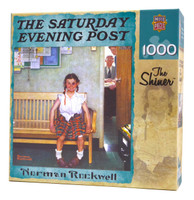 The Shiner Puzzle by Norman Rockwell