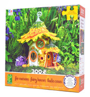 Sunflower House 300-Piece Jigsaw Puzzle