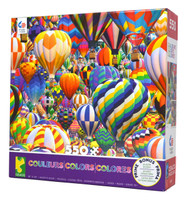 Balloon World 550-piece Jigsaw Puzzle