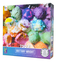 Melted Ice Cream 750-piece Jigsaw Puzzle