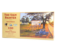 The Sign Painter (Large Piece jigsaw Puzzle)