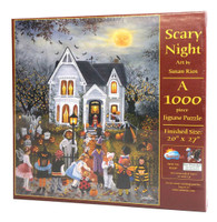 Scary Night Jigsaw Puzzle