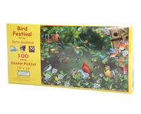 Bird Festival (300 Large Piece Jigsaw Puzzle)