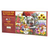 Wishing for Butterflies Sunsout Jigsaw Puzzle