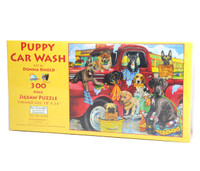 Puppy Car Wash Jigsaw Puzzle