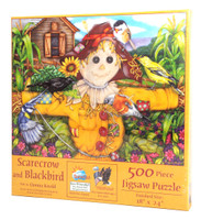 Scarecrow and Blackbird Puzzle