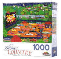 Date Night Drive In 1000-piece Jigsaw Puzzle