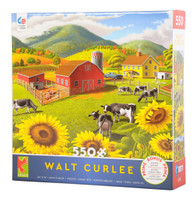 Sunflowers 550-piece Jigsaw Puzzle