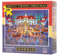 Mount Vernon Christmas Eric Dowdle Jigsaw Puzzle