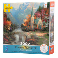 Mountain Chapel large piece jigsaw puzzle