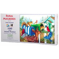 Rural Mailboxes 300 Large Piece Puzzle
