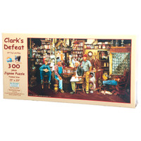 Clark's Defeat Large Piece Puzzle