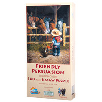 Friendly Persuasion 300 Large Piece Jigsaw Puzzle