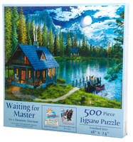 Waiting For Master 500 Piece Jigsaw Puzzle