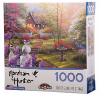 Secret Garden Cottage Jigsaw Puzzle