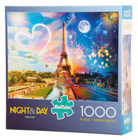 Paris Love (Night and Day) Puzzle