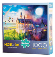 Neuschwanstein Dreams (Night and Day) Puzzle