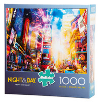 Vibrant Times Square (Night and Day) Puzzle