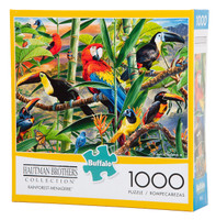 Rainforest Menagerie - Hautman Brothers Puzzle