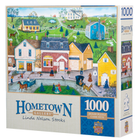The Dress Shop 1000-piece Hometown Gallery jigsaw puzzle
