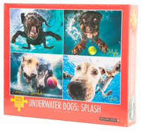 Underwater Dogs: Splash Jigsaw Puzzle