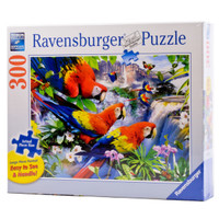 Tropical Birds Large Piece Puzzle