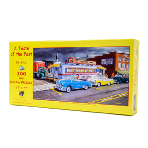 A Taste of the Past (300 Large Piece Jigsaw Puzzle)