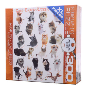 Cat Breeds Large Piece Puzzle