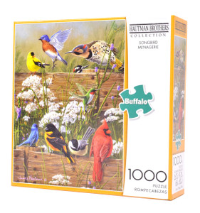 Songbird Menagerie (1000 Piece Puzzle)