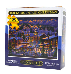 Rocky Mountain Christmas Jigsaw Puzzle