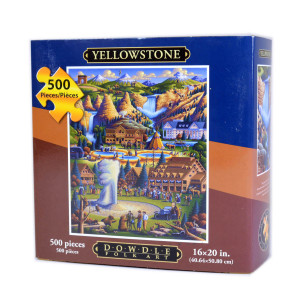 Yellowstone Jigsaw Puzzle by Eric Dowdle