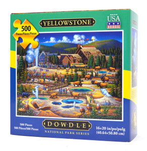 Yellowstone National Park Jigsaw Puzzle